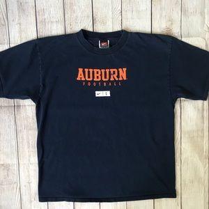 Auburn Nike Football Tee Size Large